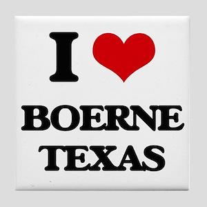 I love Boerne Texas Tile Coaster