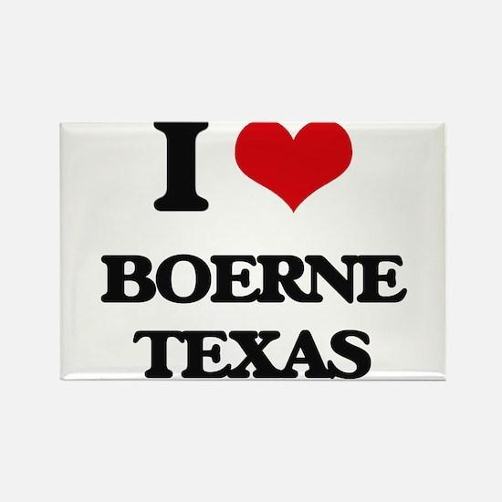 I love Boerne Texas Magnets