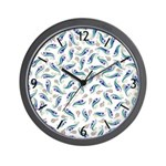 Wall Clock with kyriosity.com background image