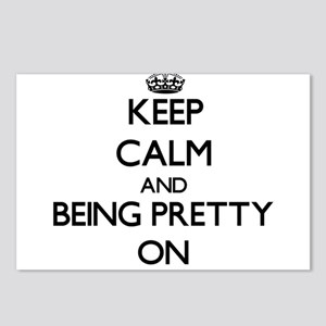 Keep Calm and Being Prett Postcards (Package of 8)