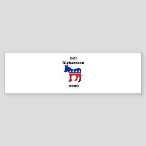 Bill Richardson Bumper Sticker