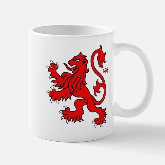 Scottish Lion Mug