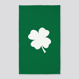 St Patricks Day Shamrock Area Rug