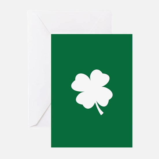 St Patricks Day Shamrock Greeting Cards