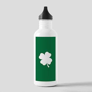 St Patricks Day Shamro Stainless Water Bottle 1.0L