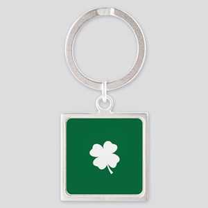 St Patricks Day Shamrock Keychains