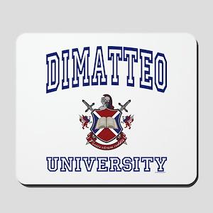 DIMATTEO University Mousepad