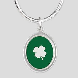 St Patricks Day Shamrock Necklaces