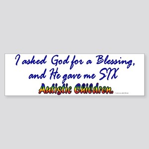 Blessing (6 Children) Bumper Sticker