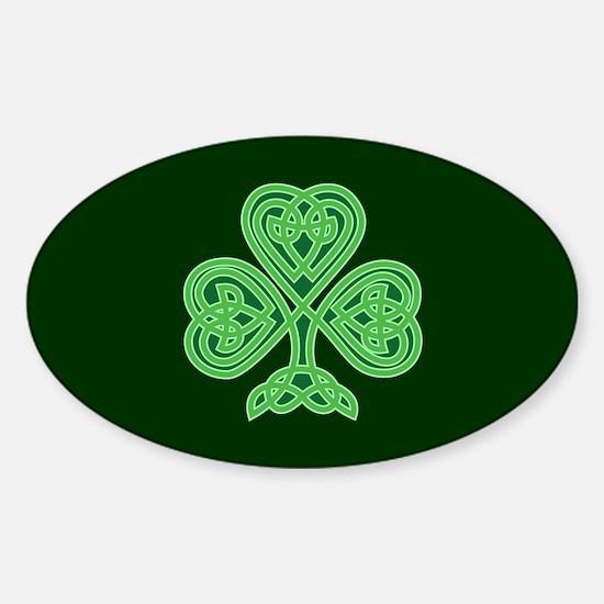 Celtic Shamrock - St Patricks Day Decal
