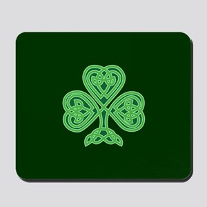 Celtic Shamrock - St Patricks Day Mousepad