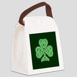 Celtic Shamrock - St Patricks Day Canvas Lunch Bag
