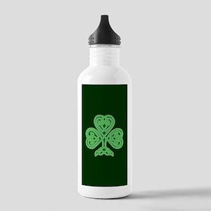 Celtic Shamrock - St P Stainless Water Bottle 1.0L