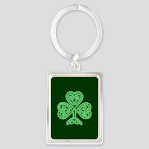 Celtic Shamrock - St Patricks Day Keychains