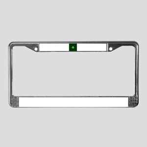 Celtic Shamrock - St Patricks License Plate Frame