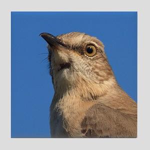 Mockingbird Portrait Tile Coaster