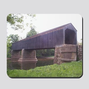 Mousepad - The Schofield Ford Covered Bridge