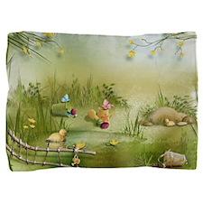 Easter Landscape Pillow Sham