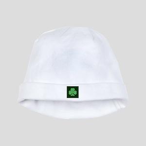 Celtic Shamrock - St Patricks Day baby hat