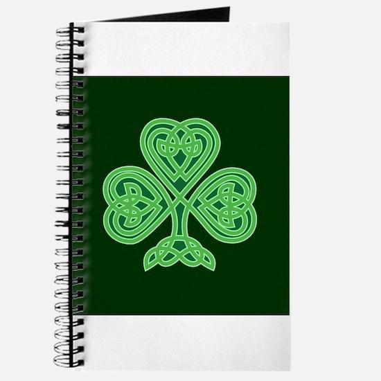Celtic Shamrock - St Patricks Day Journal
