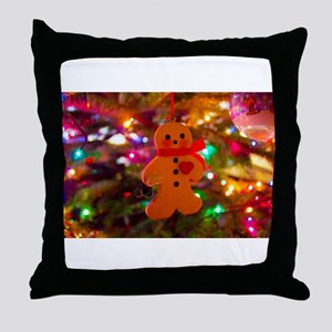 Ginger Man Throw Pillow