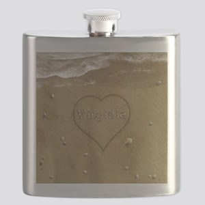 Virginia Beach Love Flask