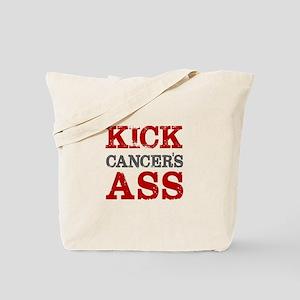 Kick Cancer's Ass Tote Bag