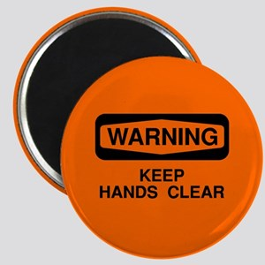 Keep Hands Clear Magnet