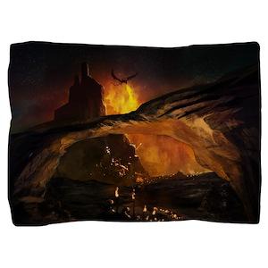 Gothic Dragon Attack Pillow Sham