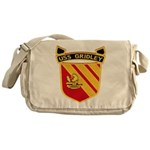USS GRIDLEY Messenger Bag
