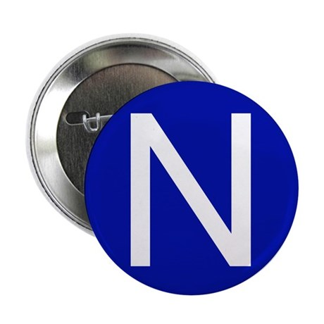 "San Francisco N 2.25"" Button (10 pack)"