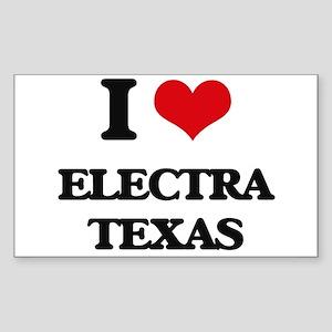 I love Electra Texas Sticker