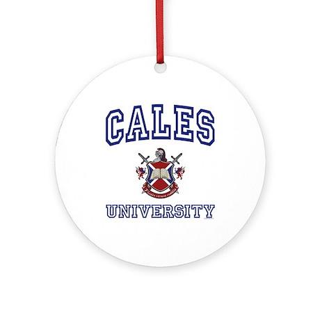 CALES University Ornament (Round)