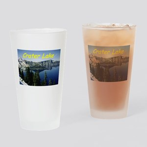 Crater Lake Drinking Glass