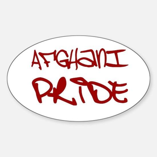 AFghani Pride Oval Decal