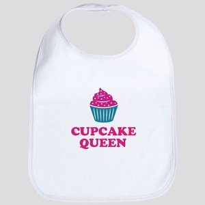 Cupcake baking queen Bib