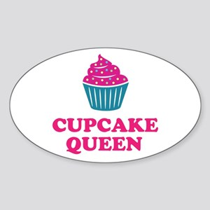 Cupcake baking queen Sticker