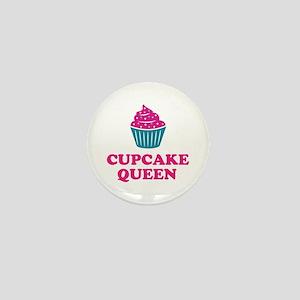 Cupcake baking queen Mini Button