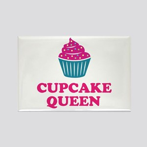 Cupcake baking queen Magnets