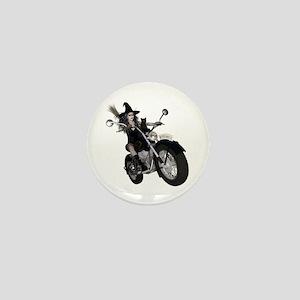 Witchy One ~ Speedy Mini Button