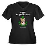 Happy St Pitties Day Plus Size T-Shirt