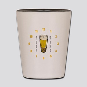 Beer Time Shot Glass