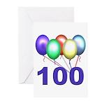 100th Birthday Party Invitations (Pk of 20)