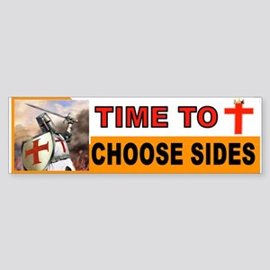 Crusaders Prayer Bumper Sticker