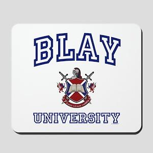 BLAY University Mousepad