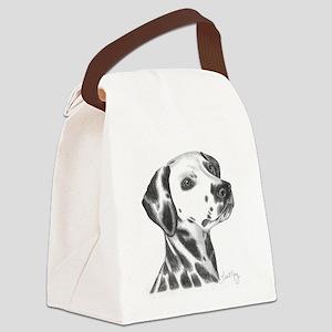 Dalmation Canvas Lunch Bag