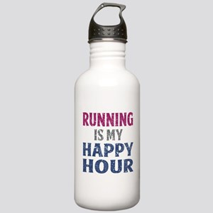 Running Is My Happy Ho Stainless Water Bottle 1.0L
