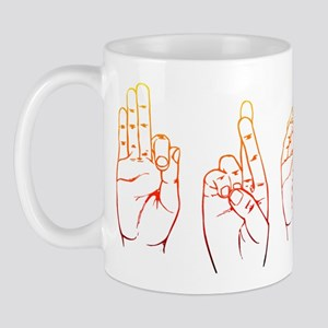 Sunset ASL FROG Mug