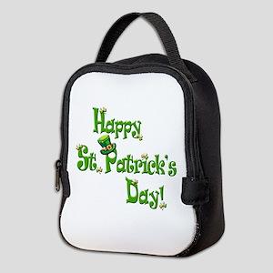 Happy St. Patricks Day! Neoprene Lunch Bag