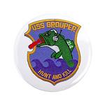 USS GROUPER Button